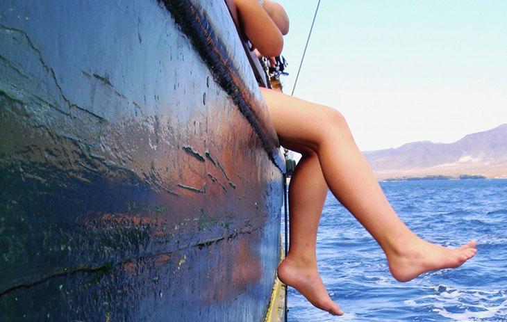 Семейное путешествие на яхте с детьми