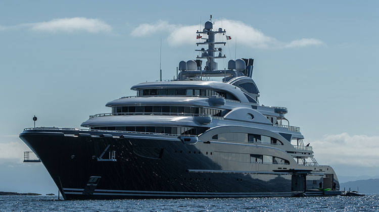 Дизайн яхты: французский стиль